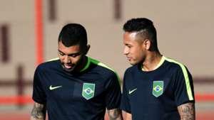 Neymar Gabigol Brazil 080116