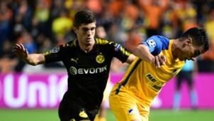 Christian Pulisic Borussia Dortmund APOEL