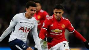 Dele Alli Alexis Sanchez Tottenham Manchester United