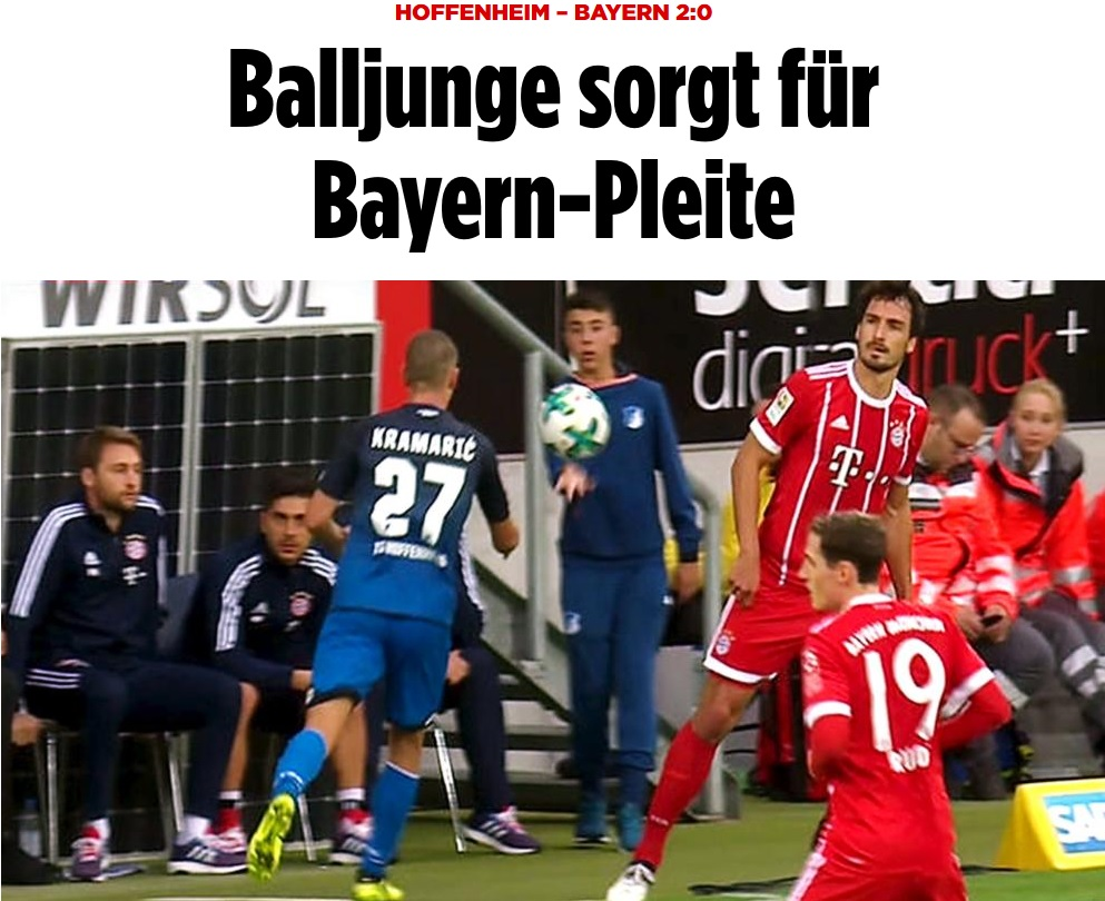 Hoffenheim Ball Boy