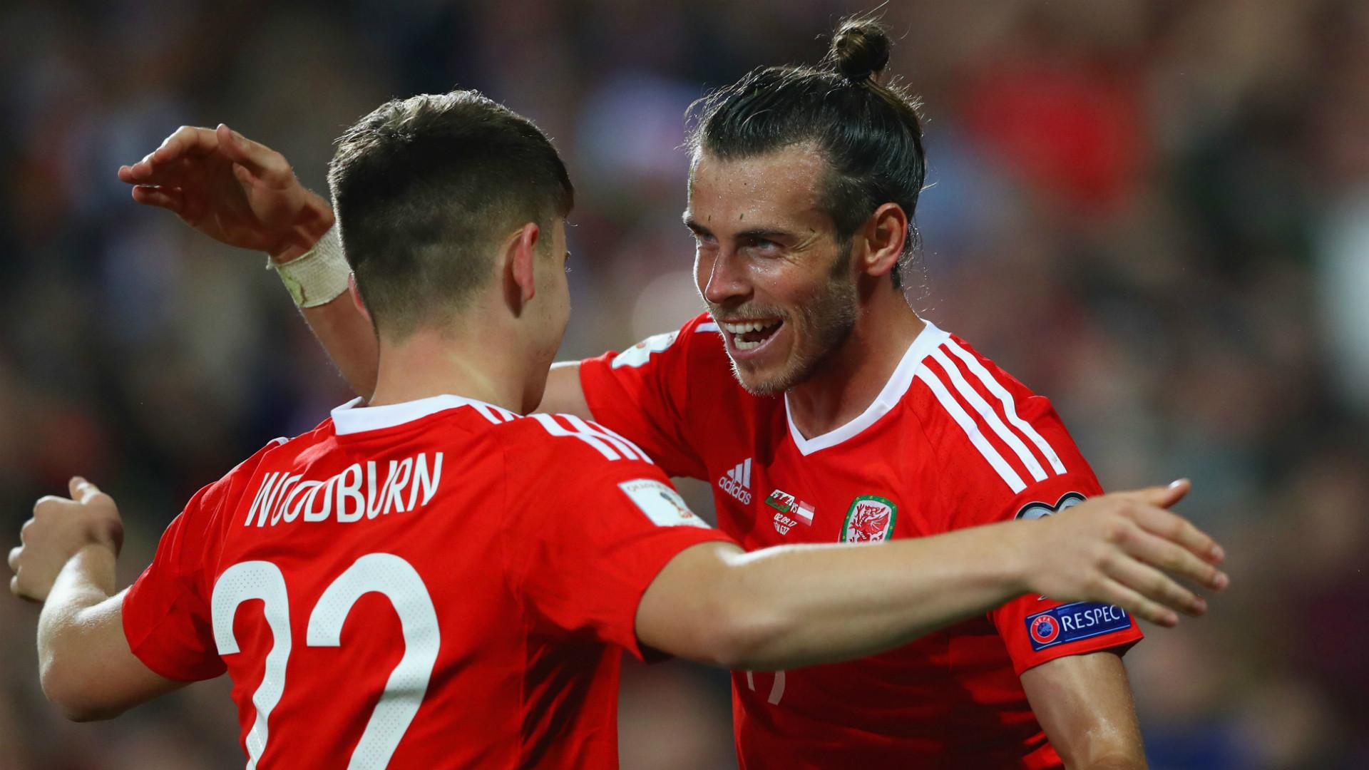 Gareth Bale Wales European Qualifiers