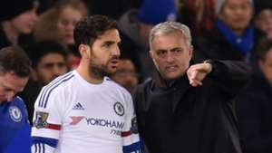 Cesc Fabregas Jose Mourinho Chelsea