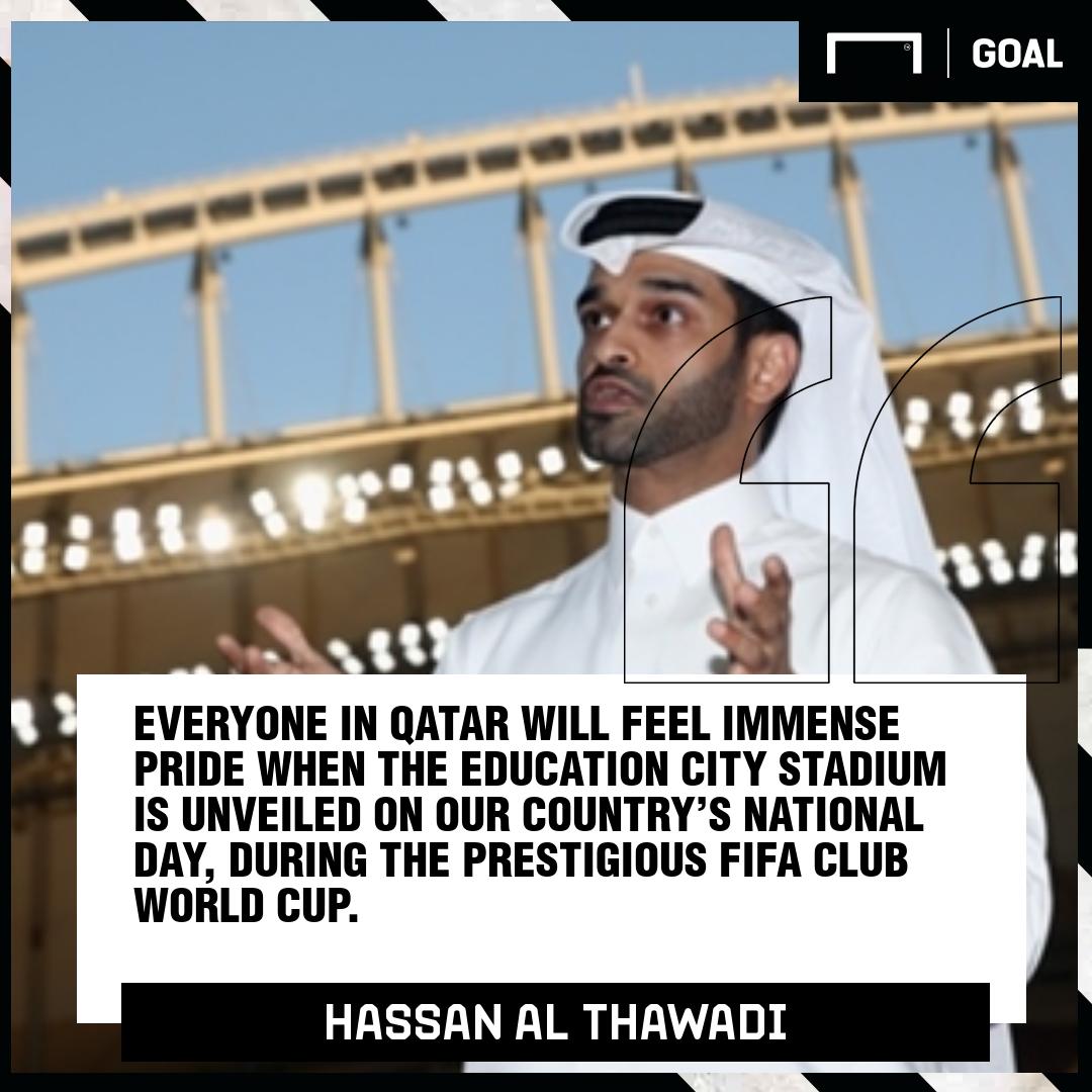 Hassal Al Thawadi on Education City stadium