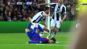 Caída Lionel Messi