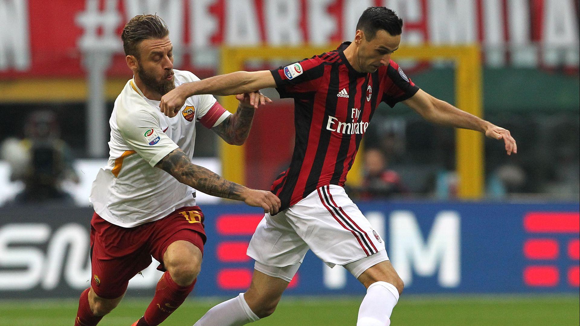 Milan-Roma 0-0: reti inviolate a San Siro, Strootman esce per infortunio