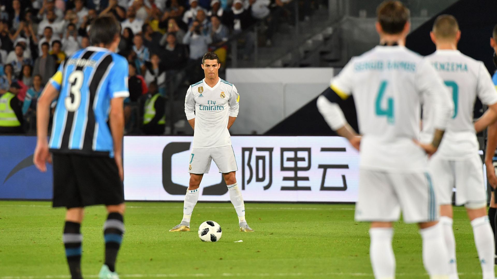 Cristiano Ronaldo Real Madrid Gremio