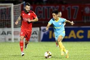 CLB TP.HCM Sanna Khánh Hòa BVN Vòng 4 V.League 2018