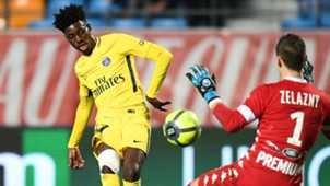 Timothy Weah PSG Troyes