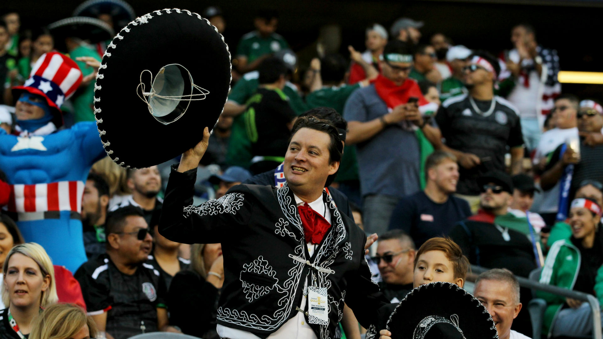 Mexico US fans Gold Cup final