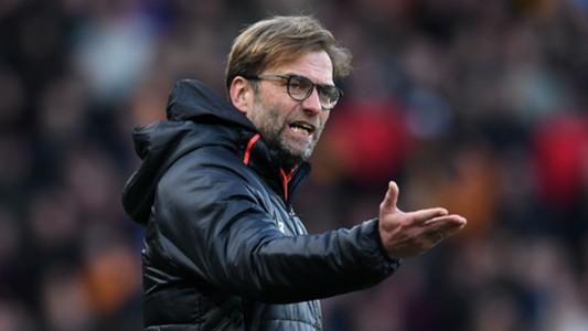 Jurgen Klopp Premier League Hull v Liverpool