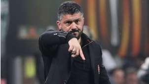 Gennaro Gattuso AC Milan Europa League