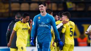Thibaut Courtois Real Madrid Villarreal La Liga 03012019
