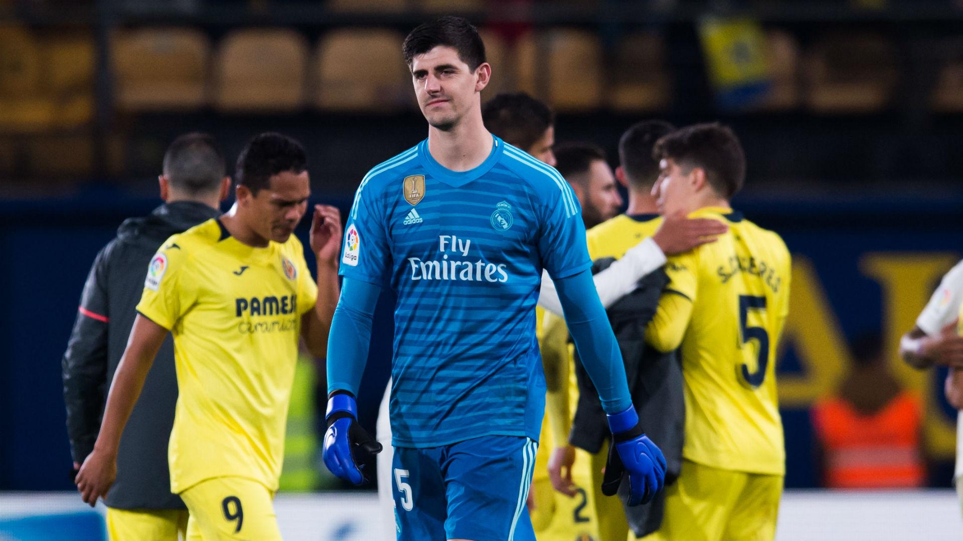 Thibaut Courtois Real Madrid Villarreal La Liga 03012019