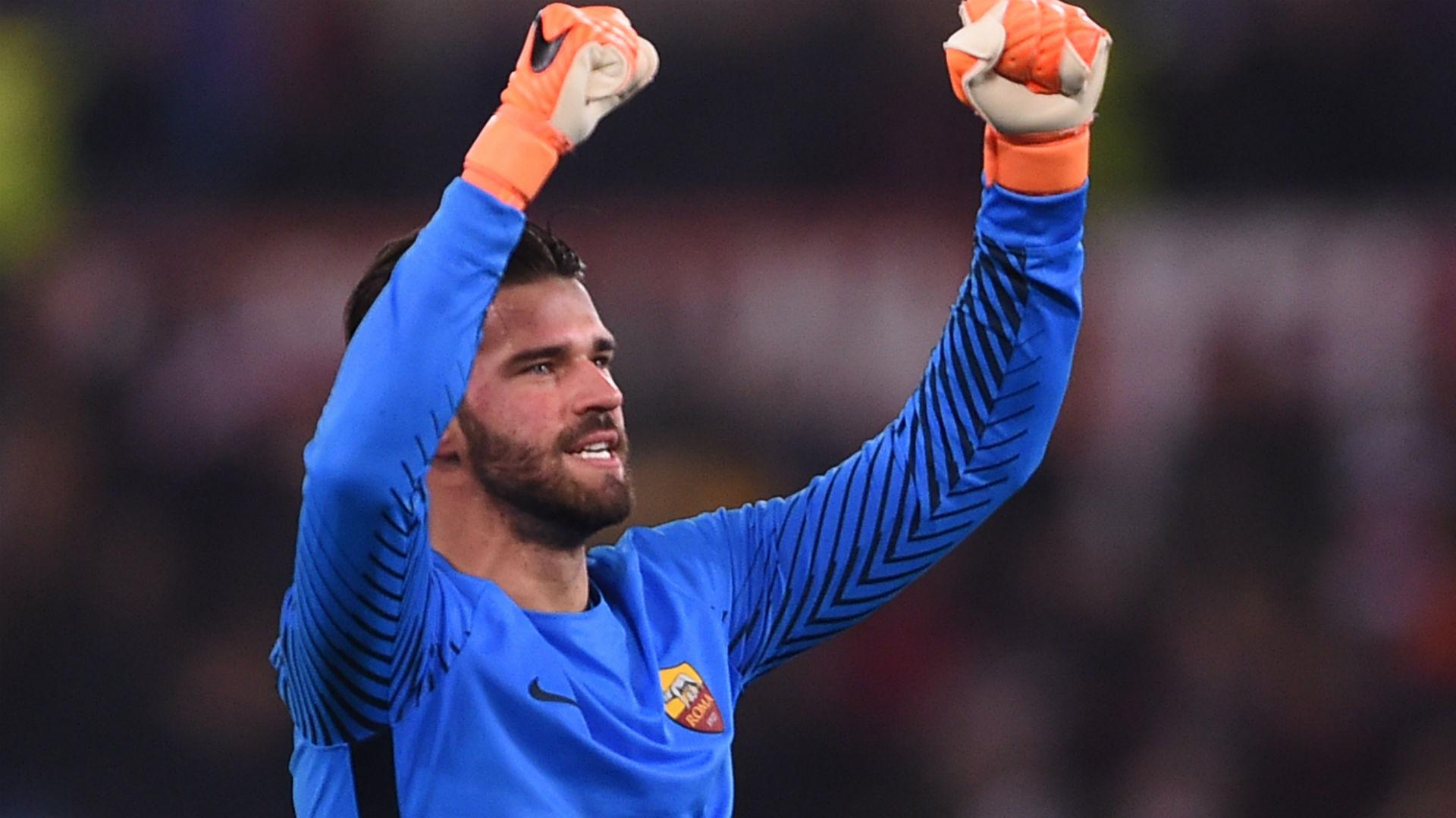 Alisson Roma Shakhtar Champions League 13 03 2018