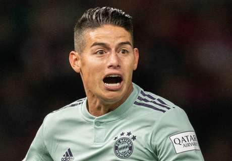 Back to Madrid? James enduring miserable season at Bayern