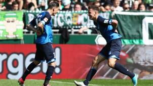 Steven Zuber Werder Bremen 1899 Hoffenheim Bundesliga 13052017