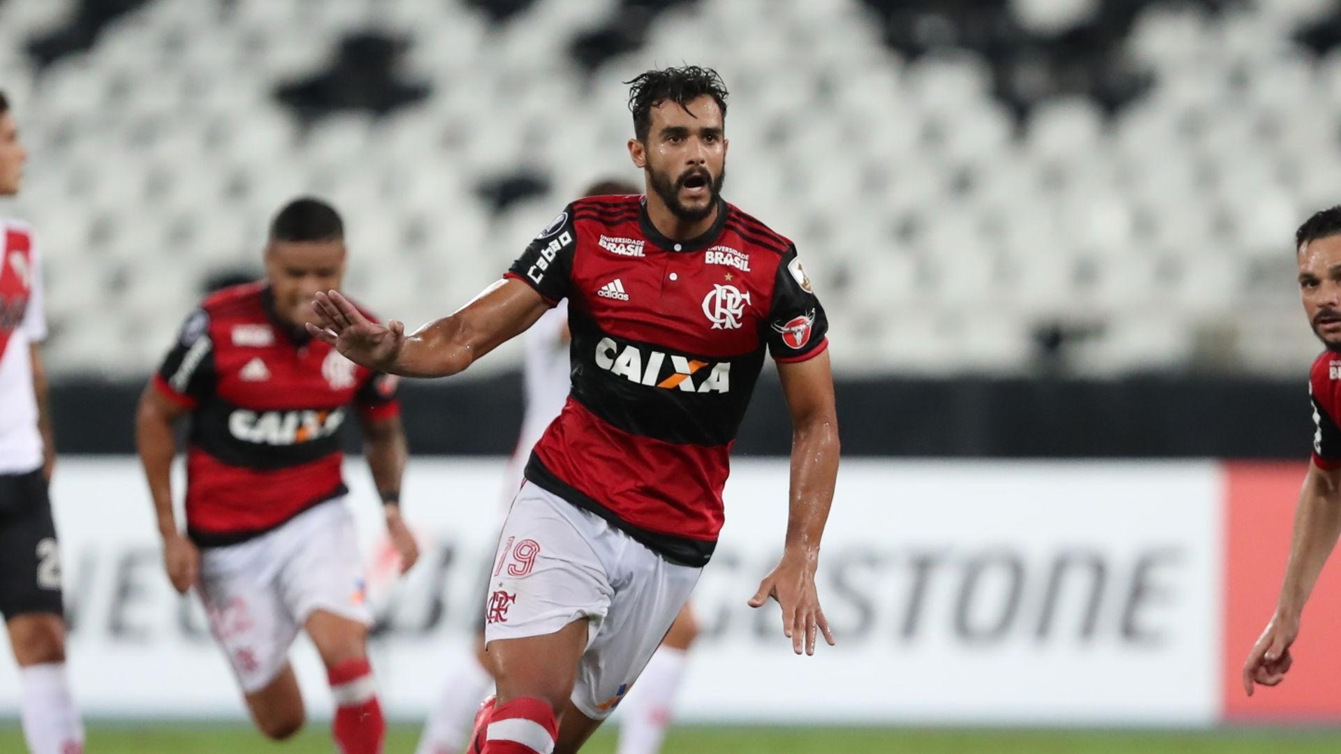 Henrique Dourado Flamengo River Plate 28022018 Copa Libertadores