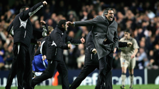 Jose Mourinho Porto Manchester United 2004