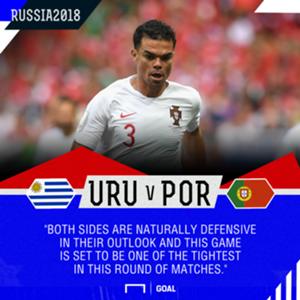 Uruguay Portugal graphic