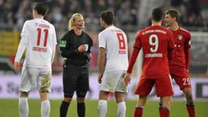 ONLY GERMANY Bibiana Steinhaus FC Augsburg FC Bayern Munchen Bundesliga 2019