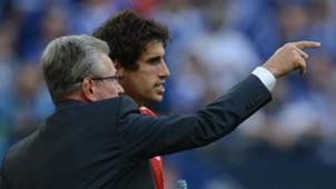 Javi Martinez Jupp Heynckes 2013 FC Bayern München