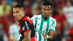 Tche Tche Paolo Guerrero Palmeiras Flamengo Brasileirao Serie A 19072017