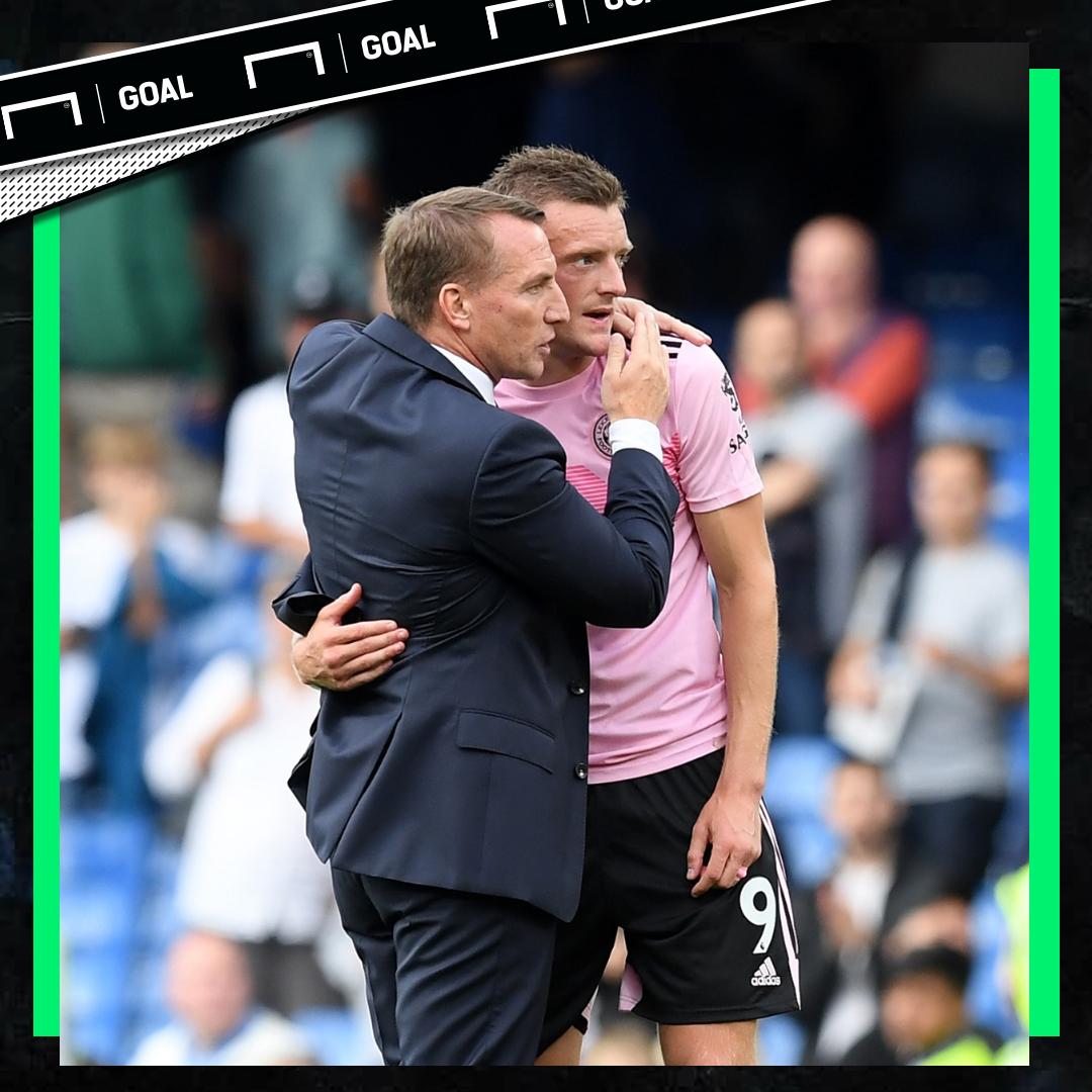Brendan Rodgers Jamie Vardy Leicester PS