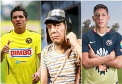 Jagger Martínez Chespirito Edson Álvarez