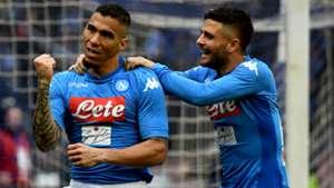 Allan Insigne Napoli SPAL Serie A