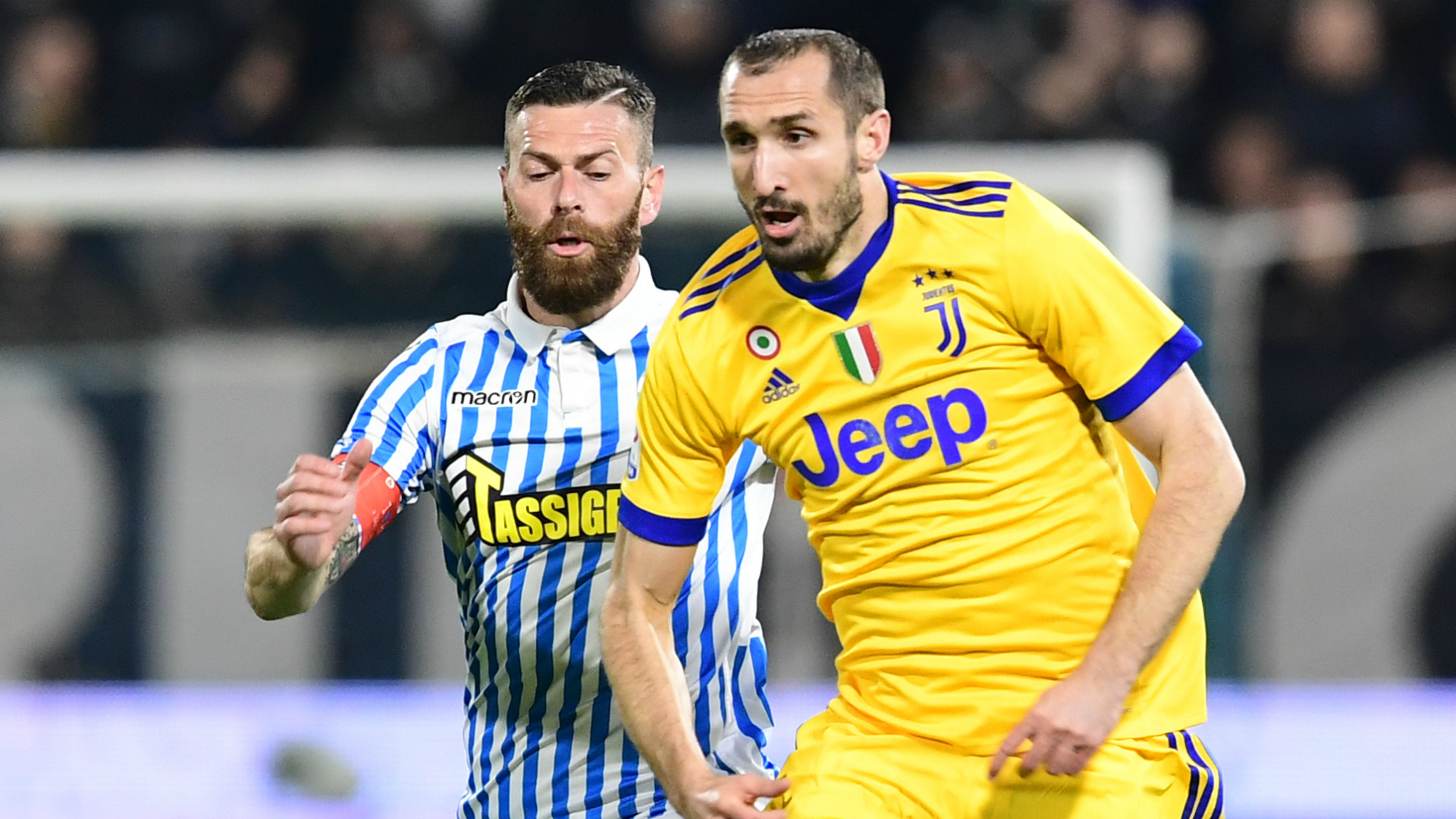 Chiellini SPAL Juventus Serie A