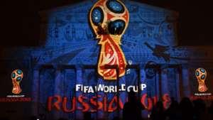 Russia 2018 WM World Cup Logo