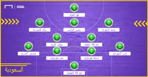 KSA Probable XI WC 2018