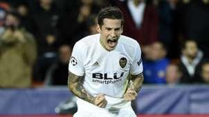 Santi Mina Valencia Young Boys Champions League 07112018