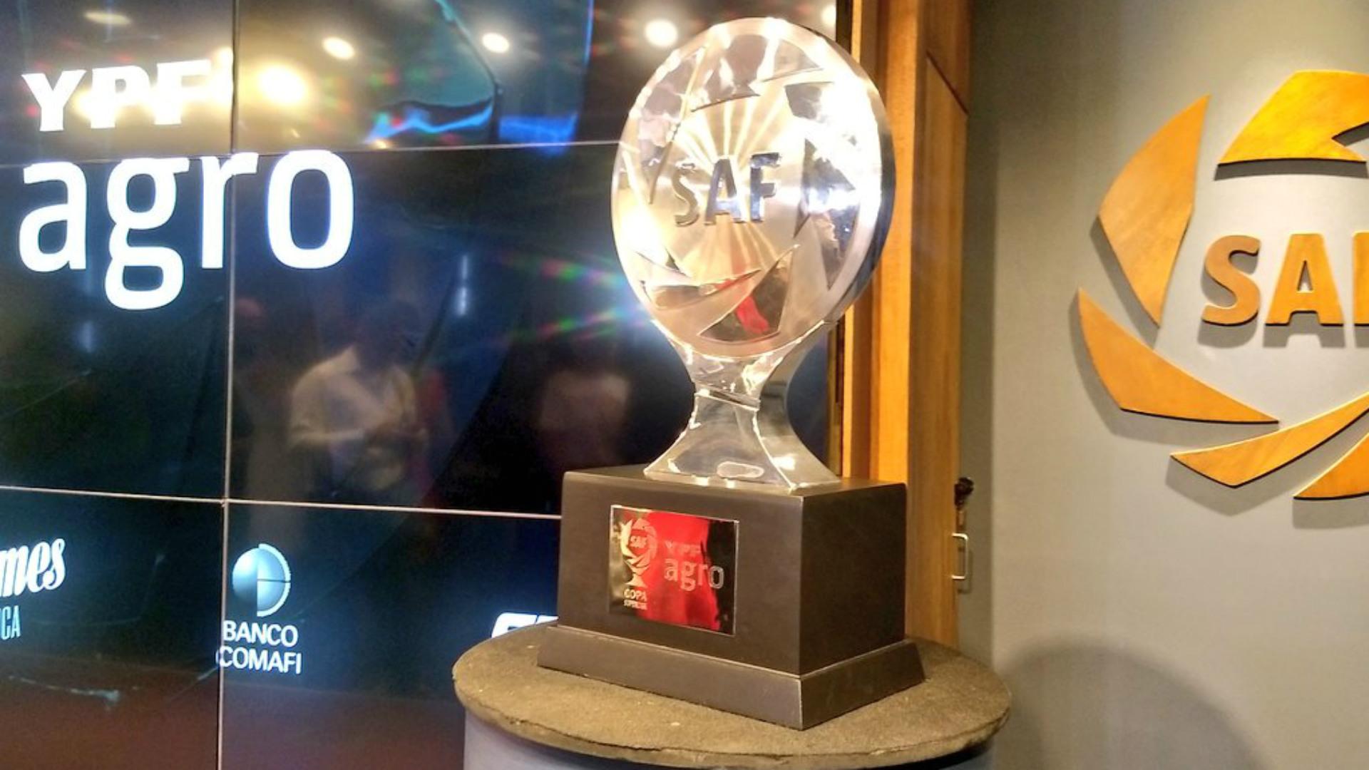 Copa de la Superliga trofeo 27032019