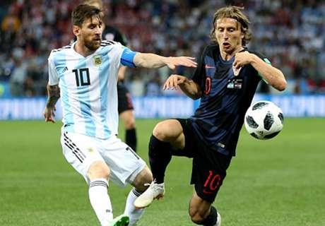 Modric: I will never play alongside Messi
