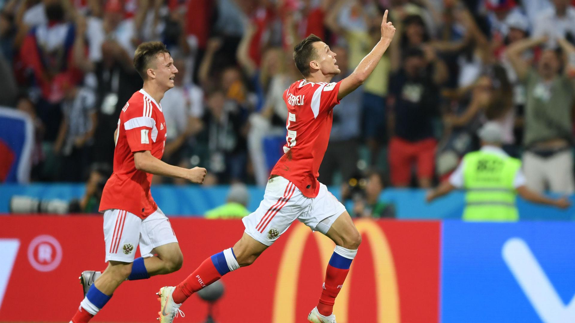 russia croatia - denis cheryshev - world cup - 07072018