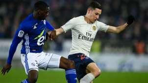 Julian Draxler Youssouf Fofana Strasbourg PSG Ligue 1 05122018