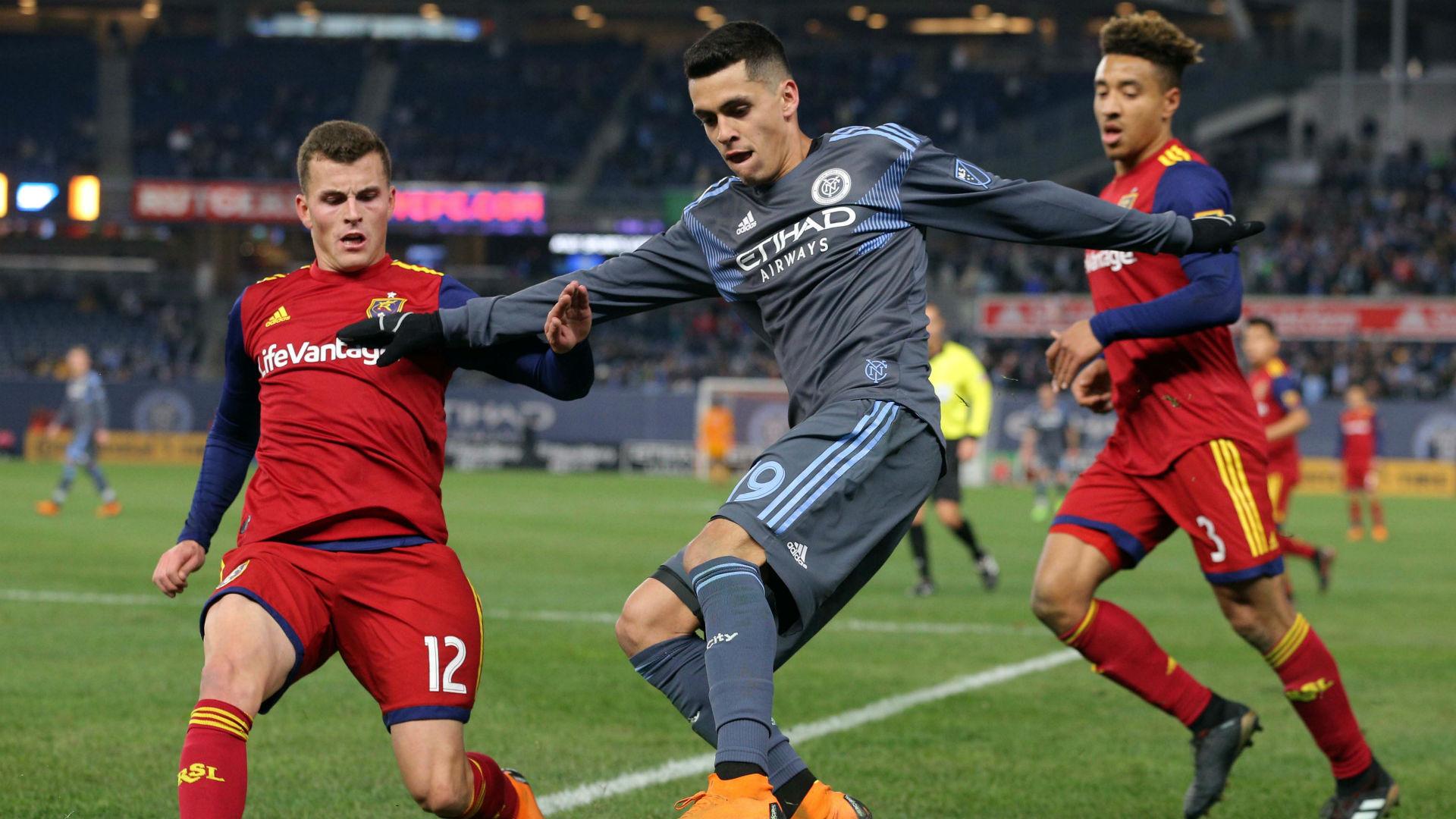 Jesus Medina New York City FC Real Salt Lake MLS