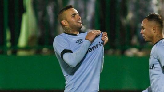 Luan Chapecoense Grêmio Brasileirão 09 06 2017