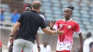 Sebastien Migne of Kenya and Francis Kahata v Malawi.