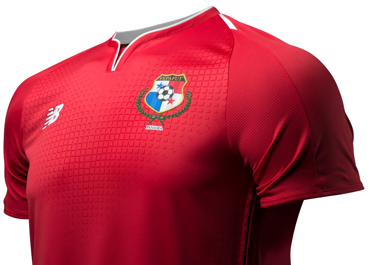 Embed only: Panama World Cup 2018 home kit