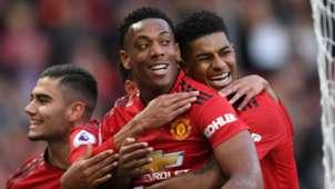 Anthony Martial Marcus Rashford Manchester United Watford 300319