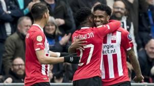 Jürgen Locadia, Steven Bergwijn, PSV vs. Ajax, 04232017
