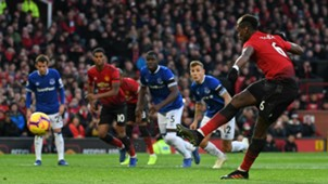 Paul Pogba Man Utd Everton Premier League 2018-19