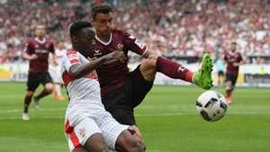 Philip Heise Dynamo Dresden VfB Stuttgart 2. Bundesliga