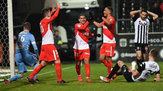 Stevan Jovetic Rony Lopes Angers Monaco Ligue 1