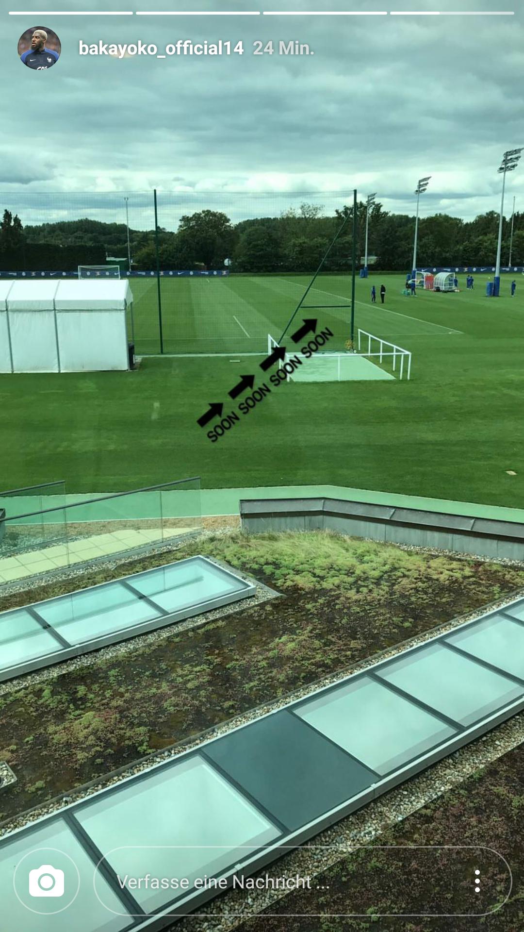 Bakayoko Chelsea Training ground