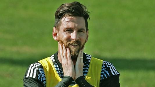 Lionel Messi Argentina 2017-18
