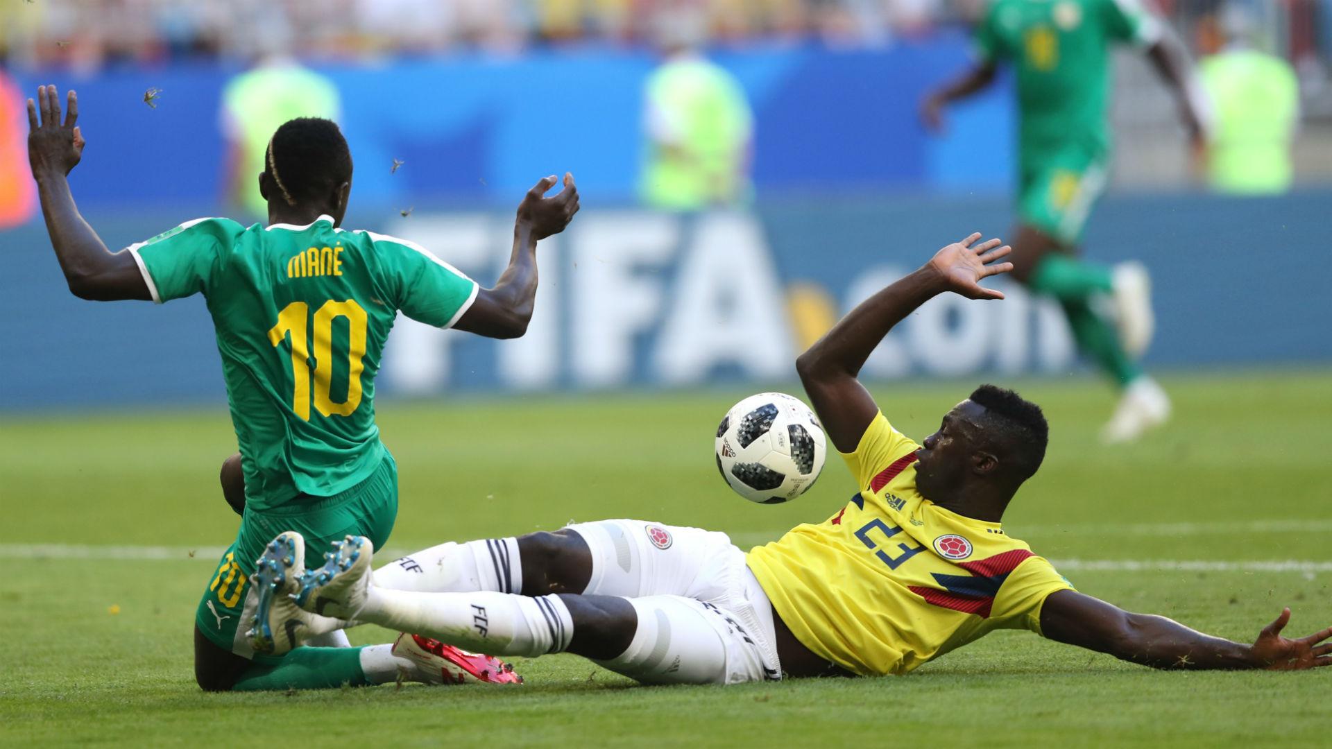 Sadio Mane Senegal Davinson Sanchez Colombia VAR