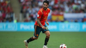 Isco Spain Russia World Cup
